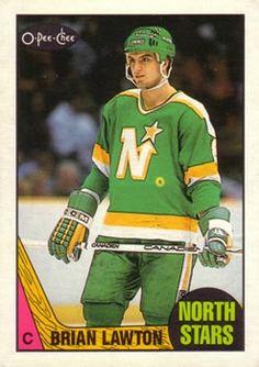 Brian Lawton north stars   145 - Brian Lawton RC - Minnesota North Stars