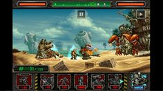 Metal Slug Defense is a 2D side-scroller Free to Play Tower Defense Strategy Game