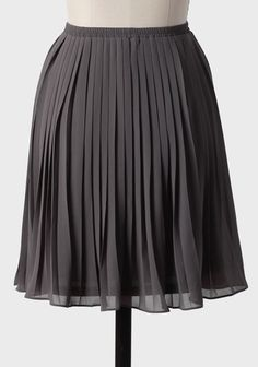 First Storm Pleated Skirt | Modern Vintage New Arrivals