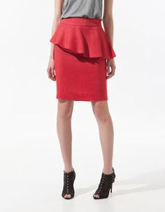 love this red pencil dress!