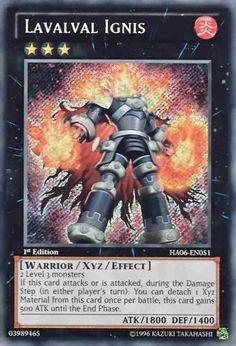 Original KONAMI Yu-Gi-Oh! Trading Card Lavalval Ignis Kartennummer: HA06-DE051 Deck: Hidden Arsenal 6 Häufigkeit: Secret Rare Kartentyp: Xyz-Monsterkarte Typ: Krieger / Xyz ATK/DEF: 1800/1400 GBA: 03989465   Günstig bei eBay kaufen!