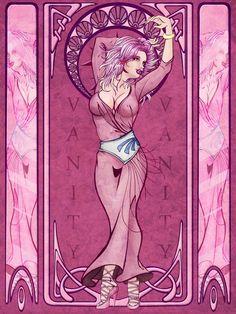 She Ra Nouveau + Bonus 7 Deadly Sins of Cartoons Nouveau! 1980 Cartoons, 7 Sins, Jem And The Holograms, 7 Deadly Sins, Fantasy Images, Mermaid Art, Types Of Art, New Art, Art Nouveau