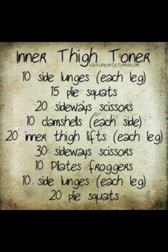 Inner thigh toner