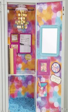 Hobby Lobby Locker Cute Locker Decorations Ideas You Need To Steal - DIY and crafts Girls Locker Ideas, Cute Locker Ideas, Diy Locker, Locker Stuff, Middle School Lockers, Middle School Supplies, Diy School Supplies, Cute Locker Decorations, Locker Supplies