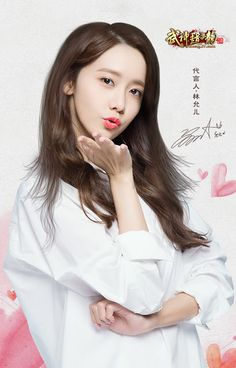 Check out SNSD YoonA's promotional pictures for 'God of War Zhao Yun' Mobile Game ~ Wonderful Generation