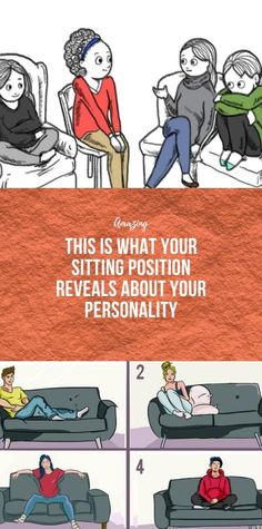 This Is What Your Sitting Position Reveals About Y. - This Is What Your Sitting Position Reveals About Your Personality - Health And Fitness Articles, Health And Nutrition, Health Heal, Good Healthy Recipes, Healthy Life, Healthy Habits, Health And Beauty Tips, Health Tips, Health Facts