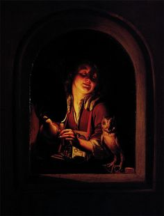 Godfried Schalcken - The Tablet Grocer by irinaraquel, via Flickr