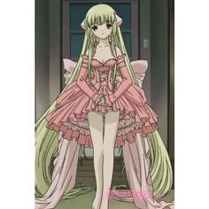 Chobits -- Chi Cosplay Costume Version 03 :: Chobits :: Cosplay... via Polyvore