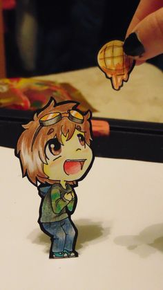 Ticci Toby Paperchild- To Give Toby a Waffle by Arrancar9021