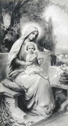 MARY AND JESUS - MERRY CHRISTMAS!