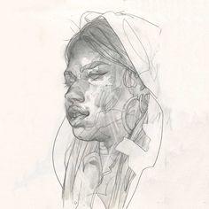 Zeichnungen: Eliza Ivanova http://www.langweiledich.net/zeichnungen-eliza-ivanova/