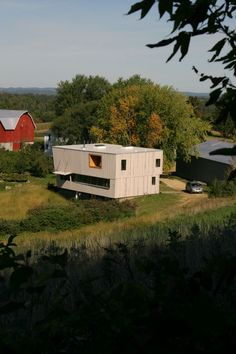 Blair Barn House / Alchemy Architects/ Blair, Wisconsin, USA