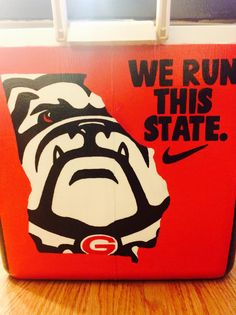 Cooler UGA University of Georgia We Run This State Dawgs Nike