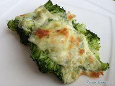 Brócoli gratinado light - Fácil