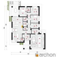 Projekt domu Dom w cieszyniankach 4 (G2) - ARCHON+