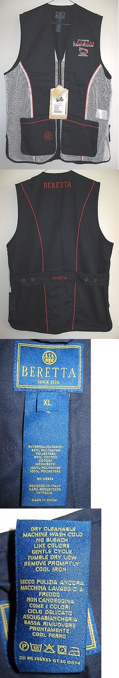 Vests 178080: Beretta Vest Trap Shooting Skeet Clays Hunting Mens Xl New Tags Liberty Fest -> BUY IT NOW ONLY: $48.99 on eBay!