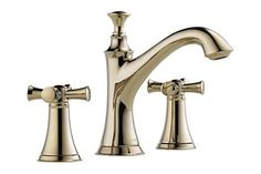 Two Handle Widespread Lavatory Faucet - Less Handles,  65305LF-PCLHP HX505-PC, Brizo, At Wishkarma
