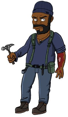Tyreese Simpson by TheWalkerPrieton on DeviantArt