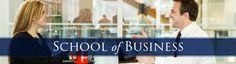School Of Business   Academic Website Banner Design