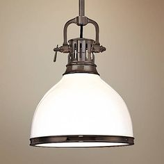 The Randolph one-light pendant from Hudson Valley is a must have nautical inspired look that effortlessly accents any transitional decor.