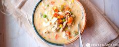 slow cooker healthy chicken pot pie stew 1