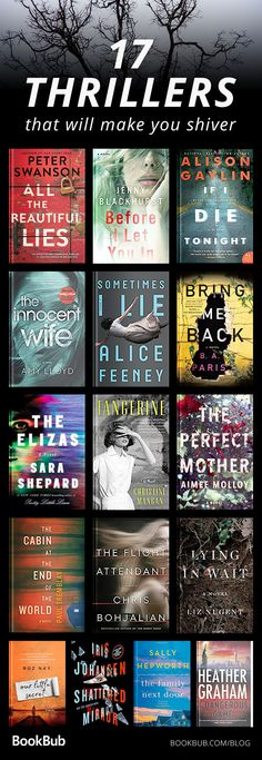 This list of psychological and suspenseful novels from 2017 - 2018 is perfect for book clubs, for fans of Gone Girl, and Girl On the Train. Some of them feature scary serial killers, while others have romantic mysteries. But all of them have twists and turns!