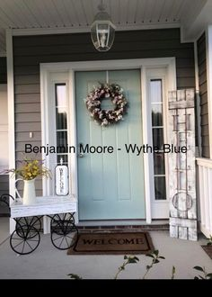 Home Renovation Front Door Exterior Paint Colors For House, Paint Colors For Home, Outdoor House Colors, Paint Colours, Exterior Paint Ideas, House Siding Colors, Garage Paint Colors, Entryway Paint Colors, Farmhouse Exterior Colors