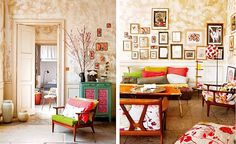 15 Apartments with Vivid Colors...  In case we ever go urban, I'll need some help ;)