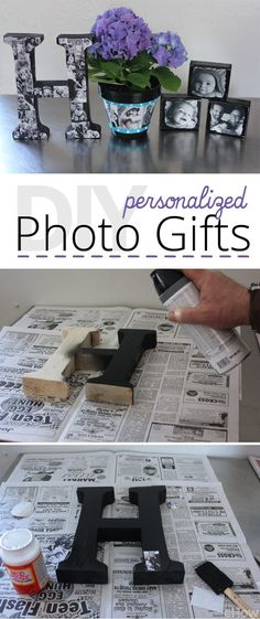 DIY Personalized Photo Gifts