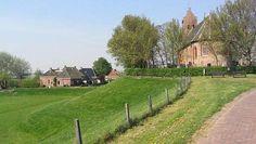 Terp bij Hegebeintum, Friesland.  - Foto Oscar Bos, Ecomare
