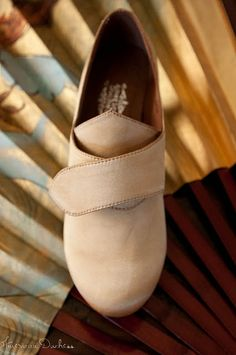 Tea or coffee staining silk shoes! Specifically... georgianas from American Duchess.
