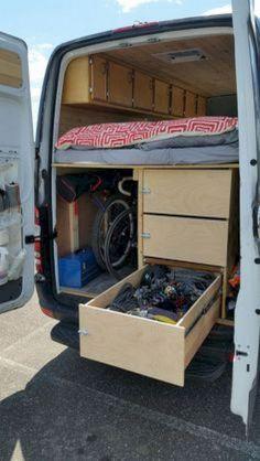 Camper Van Conversions DIY 104