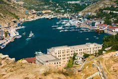 Balaklava (part of the city of Swvastopol), UKRAINE. During WWII, the southernmost point for Soviet-German lines. In 1954, the Crimea passed from Russia to the Ukraine. It 2014, annexed by Russian Federation.
