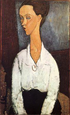 1917 Portrait de Lunia Czechowska. 70x45 cm. Etats-Unis, Collection Particulière