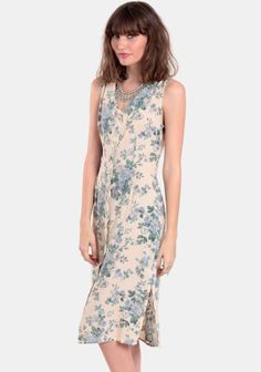 Meet Me In Malta Floral Dress at #threadsence @ThreadSence