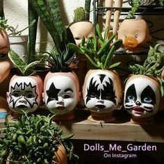 Gift for Dixie. Halloween Crafts, Halloween Decorations, Art Projects, Projects To Try, Diy And Crafts, Arts And Crafts, Head Planters, Creepy Dolls, Doll Parts