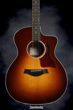 Taylor 214ce Deluxe - Sunburst | Sweetwater.com