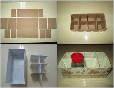 Manualidades e afins: Caixa para Especiarias