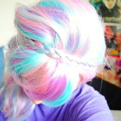 Colorful hair :)