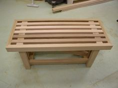 Small Woodworking Projects | Bench/Table -- 8 hours -- Can$ 115.00 -- Beginner #woodworking