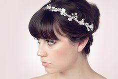 Sarah Seven - Hair accessories Diy Wedding Menu, Wedding Bells, Wedding Ideas, Wedding Attire, Wedding Bride, Wedding Tiara Hairstyles, Sarah Seven, Here Comes The Bride, Wedding Hair Accessories