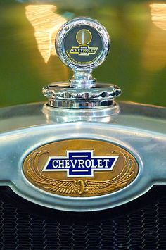1928 Chevrolet 2 Door Coupe Hood Ornament by Jill Reger..Re-pin brought to you by #bestrate #CarInsurance at #HouseofInsurance Eugene