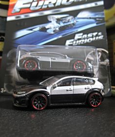 Subaru WRX STI Hot Wheels from Fast and Furious..