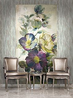 Villa Flora Wall Mural design by Seabrook Wallcoverings