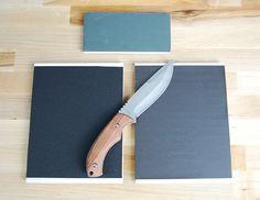 DIY Knife Sharpening made easy, easy tutorial.