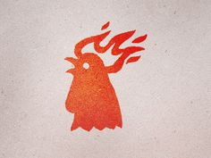 I really like this rooster logo. Its interesting and memorable. I would be curious what this company does. Typography Logo, Graphic Design Typography, Graphic Design Illustration, Art Logo, Lettering, Rooster Logo, Rooster Funny, Web Design, Icon Design