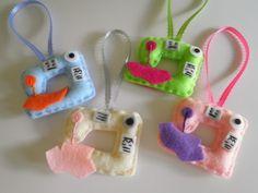 Игрушки и Поделки из Фетра / Felt Crafts Toys. DIY ideas for home decor