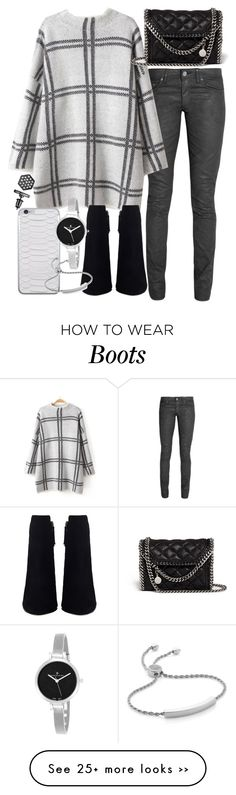 """""""Untitled #18890"""" by florencia95 on Polyvore featuring Acne Studios, STELLA McCARTNEY, Christian Van Sant, Monica Vinader and Simply Vera"""