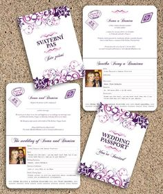 I can design your Bilingual Wedding Invitations - Just supply the wording in English and whichever other language you need.