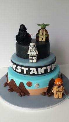 Lego star wars cake